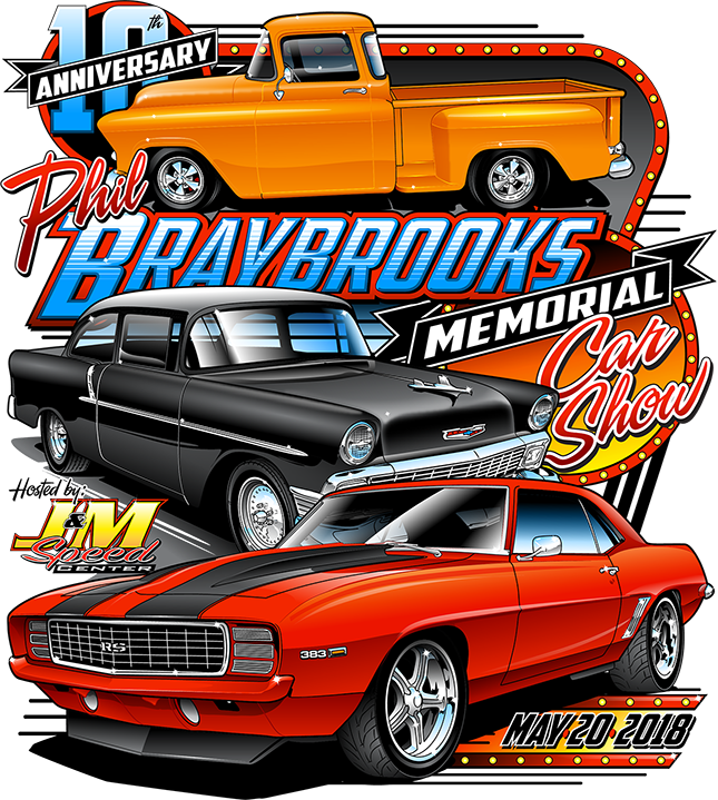 Phil Braybrook 10th Annual Memorial Car Show