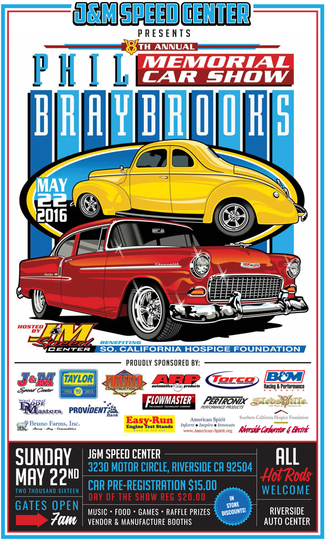 Phil Braybrook 8th Annual Memorial Car Show